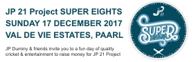 JP21 Project SUPER EIGHTS Charity Cricket Day